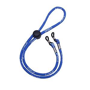 FENICAL Sport Brillenhalter Kette Brille Halskordel Schnurhalteriemen (blau)