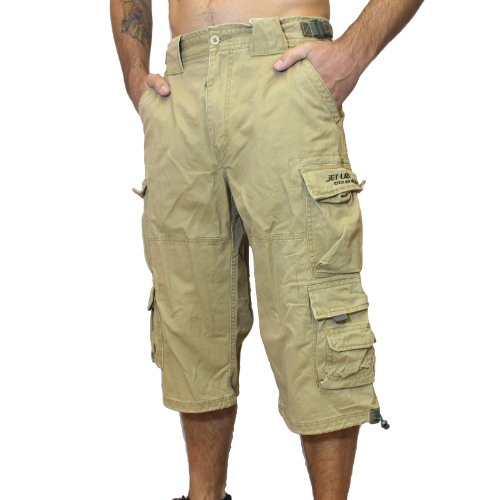 Jet Lag Short 007 S kurze 3 4 Hose Bermuda Short in olive beige schwarz  Jeans blau eac657645e
