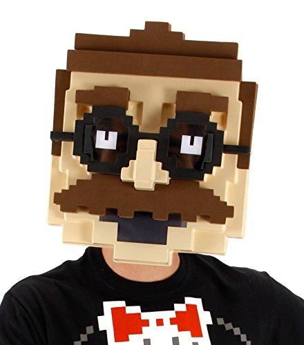 stume Pixel Man Mask (Ursprung Des Halloween-maske)
