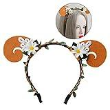 Frcolor Femmes Fleur Cheveux capuche Headband Simulation Plant Headpiece pour Halloween Cosplay Costume Party...