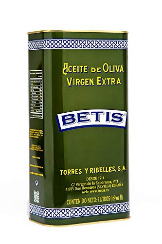 Lata De 5L De Aceite De Oliva Virgen Extra