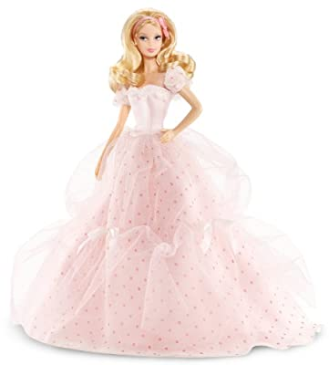 Barbie - Birthday Wishes, muñeca y accesorios (Mattel X9189) por Mattel
