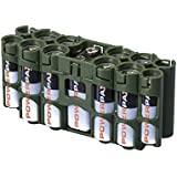 Military Green : Storacell By Powerpax A9 Multi-Pack Battery Caddy, Military Green