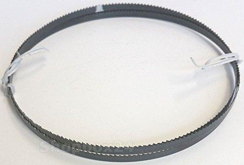 Premium Sägeband Bandsägeband Bandsägeblatt Sägebänder 1520 mm x 6 mm x 0,36 mm x 10 Zähne pro Zoll , für Sperrholz, geeignet für Maschinen wie : Black & Decker DN 330 / 339 u.v.m.