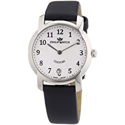 Philip Ladies Couture Analogue Watch R8251198545 with Quartz Movement, White Dial and Stainless Steel Case
