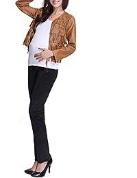 Angebébé–Pantalón pana de embarazo–Pantalón pana de mujer altavoz