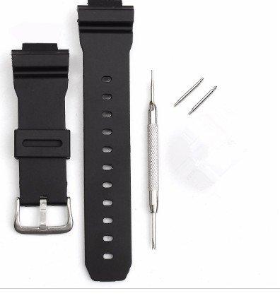 Band G-shock-uhr Ersatz (YJ Ersatz Uhrenarmband Band & Pins für Casio G Shock 16mm ga-100g-8900gw-8900mit vielen mehr)
