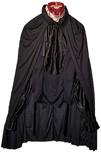 Kopfloser Geist Kostüm Horror Halloween Karneval Verkleidung Erwachsene Herren - 97-102 (Kostüm Kopflosen Mann Mit Brust)