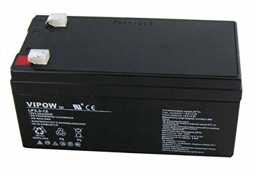 Preisvergleich Produktbild Vipow Gelakku AGM Gelakkumulator Ersatzbatterie Gel Akku Batterie (12V 3, 3Ah)