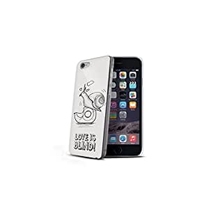 Celly Cover Love Is Blind per iPhone 6, Lumaca, Bianco