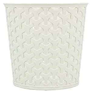 """Curver 00717-885-00 Panier """"My Style - Office"""" 14,4x14,4x13,9cm Crème Plastique 14.4x14.4x13.9 cm"""