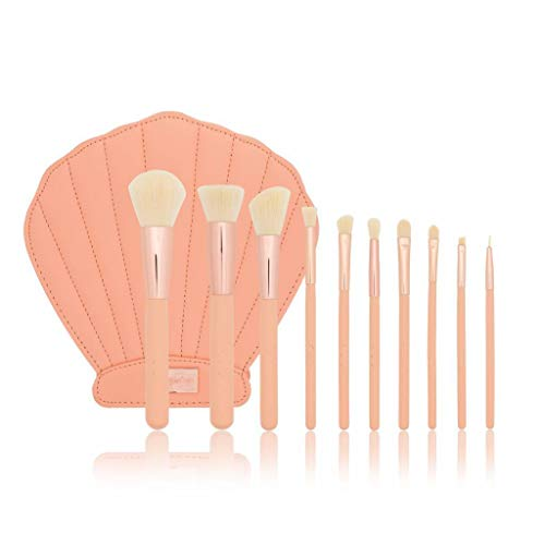 (6 Pack) BEAUTY CREATIONS Mermaid's Dream II 10 Pc Pink Shell Brush Set