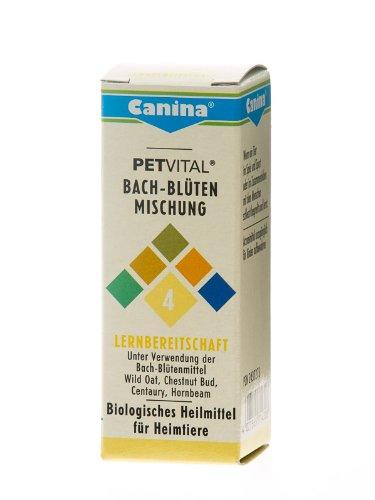 Artikelbild: Canina 71430 8 Petvital Bachblüten Nr. 4 Lernbereitschaft 10 g - für Tiere