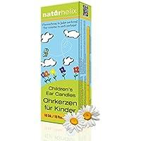 Naturhelix Kinder-Ohrkerzen mit Kamillenöl - 10er-Packung preisvergleich bei billige-tabletten.eu