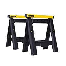 Stanley STST1-70559 Telescopic Folding Trestle - Set of 2