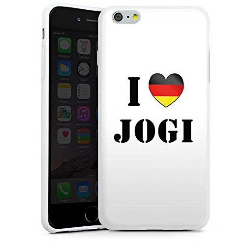 Apple iPhone X Silikon Hülle Case Schutzhülle Joachim Löw I Love Jogi Fußball Silikon Case weiß