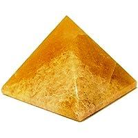 buycrafty natürlichem Quarz Pyramide gelb Kristall Stein Heilung Home Decor Carving (C-1) preisvergleich bei billige-tabletten.eu