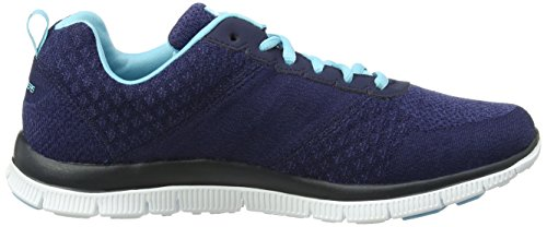 Skechers  Flex Appeal Simply Sweet, Sneakers Basses femme bleu (NVLB)