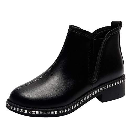 Stivali Donna Invernali,LiucheHD Stivali Donna in Gomma Caviglia Chelsea Rain Boot Antiscivolo Impermeabile Comodi ed Eleganti Pioggia Scarpe