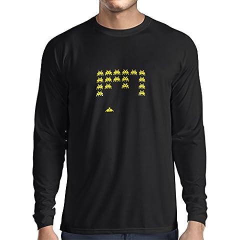 Camiseta de manga larga Camisetas divertidas del videojugador de los videojug camisetas