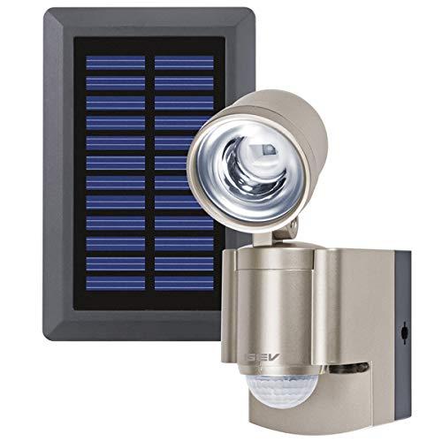 GEV Solar LED-Strahler LPL 14817, Plastik, 2G7, 0.5 W, Gold, 12 x 7 x 17 cm