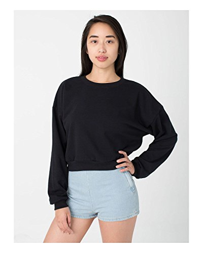 american-apparel-california-fleece-cropped-sweatshirt-black-one-size