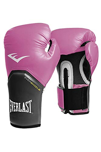 Everlast-Guantes boxeo elite pro Style Negro Rojo