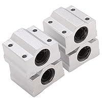 BQLZR SC8UU Linear Motion Ball Bearing CNC Slide Bushing 34.5mm Length Pack of 4