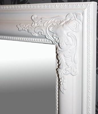 Spiegel Wandspiegel weiß Barock PEARL 70 x 90 cm