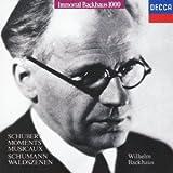 Schubert: Moments Musicaux by Wilhelm Bachhaus (2015-11-04)