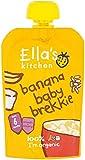 Ella's Kitchen Stage 1 From 6 Months Organic Baby Brekkie Banana 100 g (Pack of 6)
