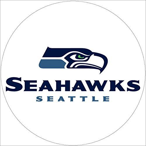 Fondant Tortenaufleger Tortenbild Geburtstag NFL Seattle Seahawks T1