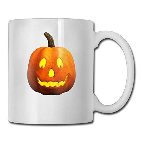 Halloween Pumpkin Fac 11oz Ceramic Coffee Mugs Idea Birthday Christmas and Inspirational Gift
