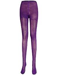 1a460ab18e516 Ladies pelerine sweater tights women's open knit crochet pantyhose size  8-16 (1 pair