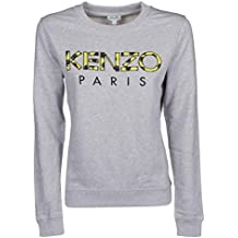 1440e6d849ef Kenzo Femme F952SW77595293 Gris Coton Sweatshirt