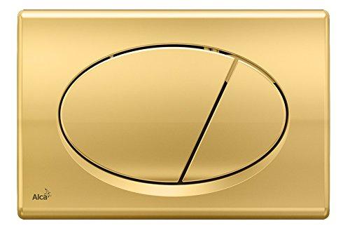 WC Vorwandelement für Trockenbau 100 cm inklusive Betätigungsplatte Gold Typ Oval Unterputzspülkasten Spülkasten Wand WC hängend Schallschutz