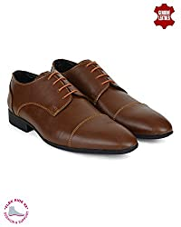 Ziraffe WURTH Tan Mens Formal Shoes (9 UK)