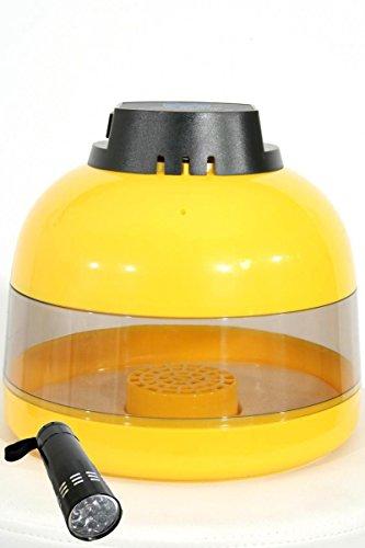 Inkubator halbautomatisch BK10, Brutautomat Brutkasten, Brutmaschine für 10 Hühnereier, mit deutscher Bedienungsanleitung
