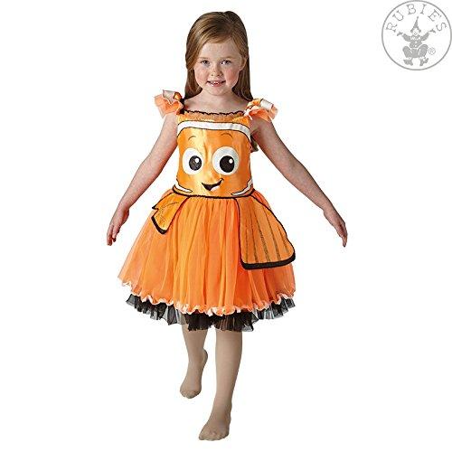 Nemo Kostüm Findet Dory - Rubie's 3620675 - Nemo Tutu Dress Deluxe - Child, Verkleiden und Kostüme, M