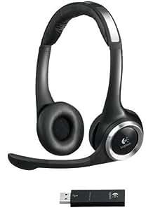 Logitech ClearChat Stereo Kopfhörer mit USB Transmitter schnurlos