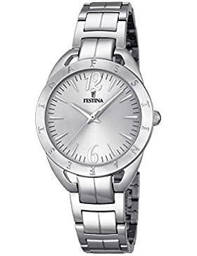 Festina Damen-Armbanduhr Analog Quarz Edelstahl F16932/1