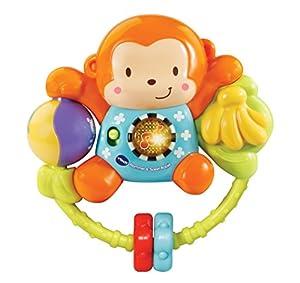 VTech Baby Rammel & Speel Aapje Niño/niña - Juegos educativos, Niño/niña, 2 año(s), Mono, Holandés, De plástico