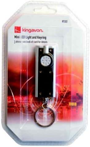 Kingavon Kingavon Kingavon BB-RT322 Mini LED Light and Key ring by Kingavon   Un equilibrio tra robustezza e durezza    Prestazioni Affidabili    Attraente e durevole  f29333