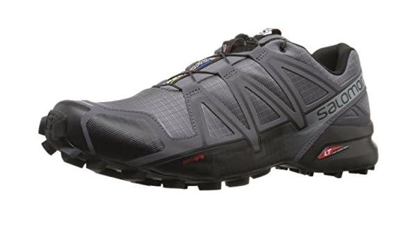 Salomon Herren Speedcross 4 GTX, Trailrunning Schuhe, Grau