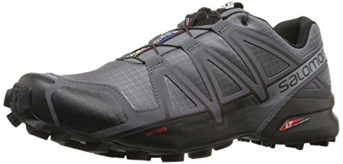 Salomon Speedcross 4, Chaussures de Running Compétition Homme - Gris (Dark Cloud/Black/Grey), 44 EU