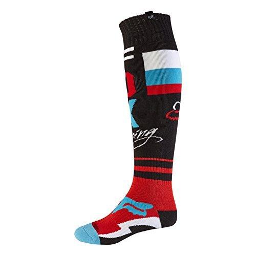 Fox 2017 Herren Motocross / MTB Socken - FRI ROHR THIN - schwarz: Größe Socken: L