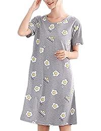 nuovo concetto 979e8 53035 Amazon.it: Taglie Forti Donna - BESTHOO / Camicie da notte ...