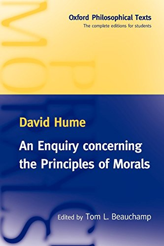 An Enquiry Concerning the Principles of Morals: Oxford Philosophical Texts por David Hume