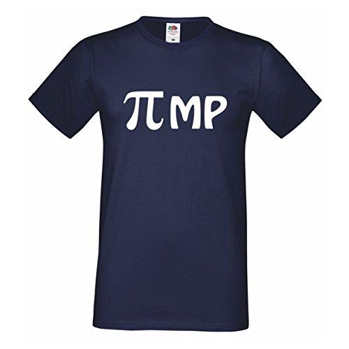 pruch Shirt Spruchshirt Lustiger Spruch Spaß T-Shirt Farbe Schwarz Weiß S-3XL (L) (Lustig Pimp)