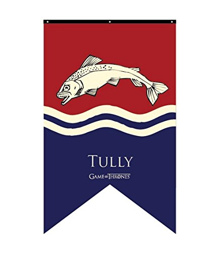 Game of Thrones Haus Tully Banner